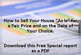 Sell My House Sell House Fast Special Report